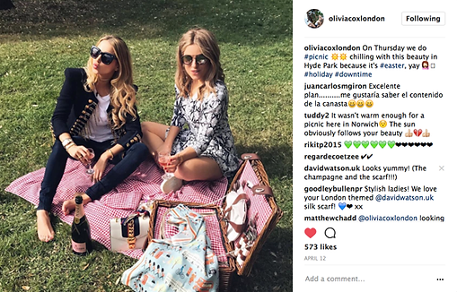 Olivia Cox Oliviacoxlondon blog Instagram poppyjamie David Watson Sam Petty Silk Press Magazine review pocket square scarf