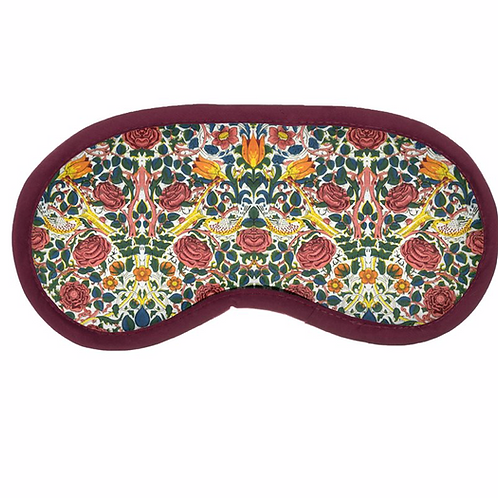 William Morris Rose Eye Mask
