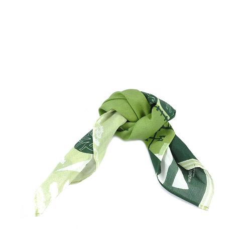 Vine Cricket Silk & Cotton Hair Tie