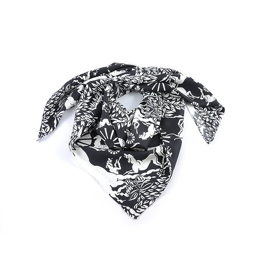 Chace Tapestry Square Scarf