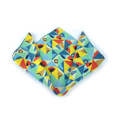 Icons of Speed Pocket Square