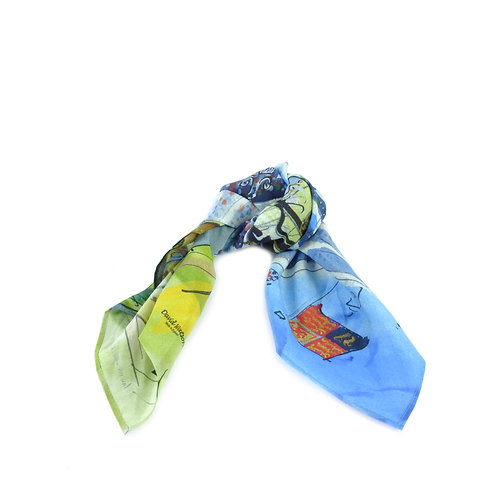 Ascot Silk Cotton Hair Tie