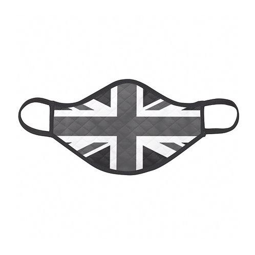 Black & White Flag Face Mask