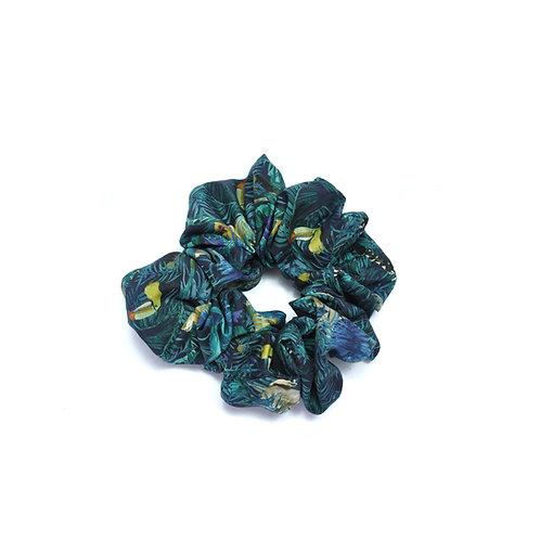 Cotton Liberty Toucan Scrunchie