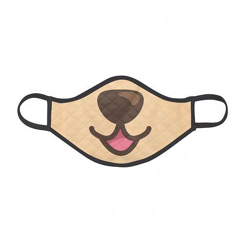 Children's Bear Face Mask