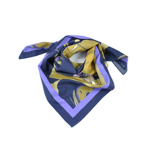 Golden Arrow Silk & Cotton Scarf