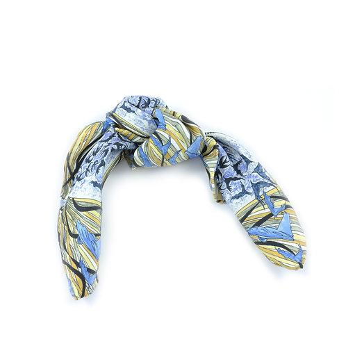 Bluebird Hair Tie