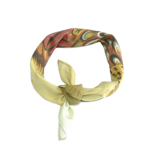 Fabulous Pheasant Silk & Cotton Neckerchief