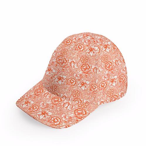 William Morris Pink & Poppy Cap
