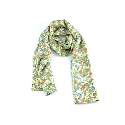William Morris - Trellis Long Scarf