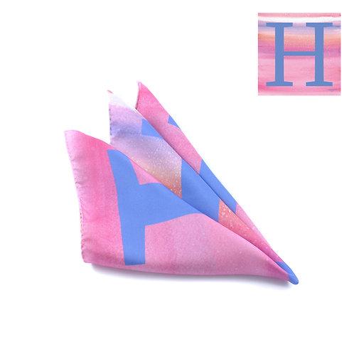 H Pocket Square