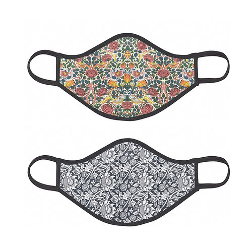 Lucky Dip 2x William Morris  Face Masks