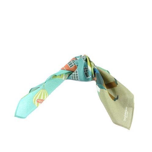 Bristol Colour Silk & Cotton Hair Tie