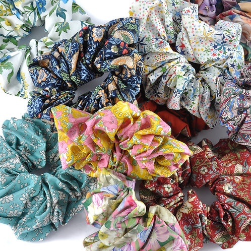 Lucky dip Liberty & William Morris Scrunchies