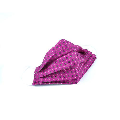 Silk Pink Face Mask