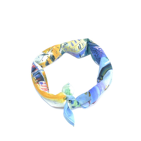 Cowes Silk & Cotton Neckerchief