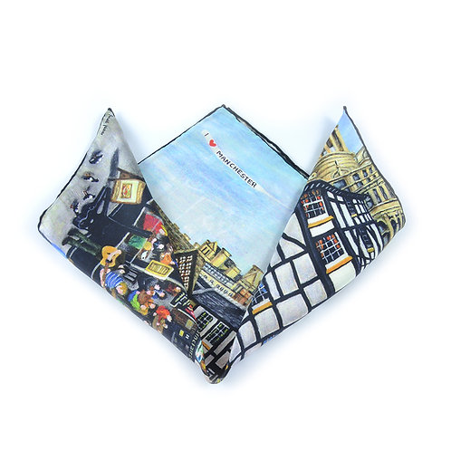 Manchester Shambles Pocket Square