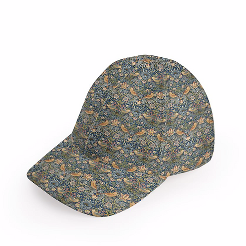 William Morris Strawberry Thief Cap