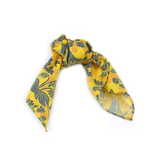 Tapestry Flowers Hair Tie