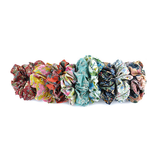 3x Liberty & William Morris Scrunchies