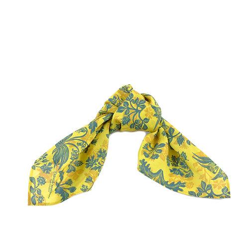 Tapestry Flowers Silk & Cotton Hair Tie