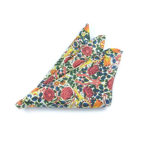 William Morris - Rose Pocket Square