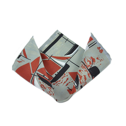 Whitstable Oyster Fleet Pocket Square
