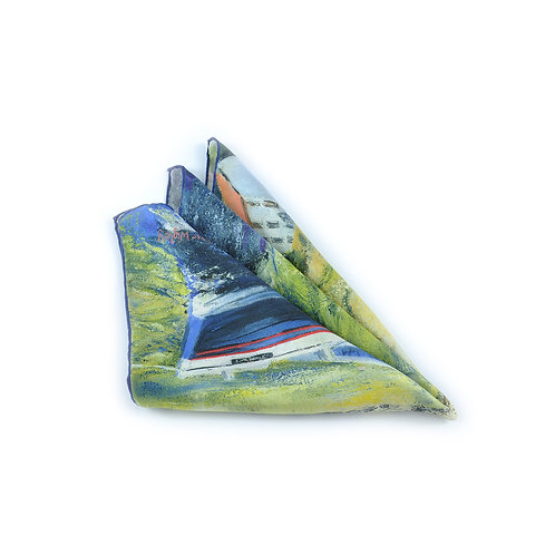 Staithes Beck Pocket Square