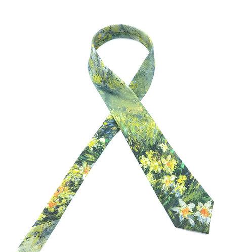 Wild Daffodils Tie