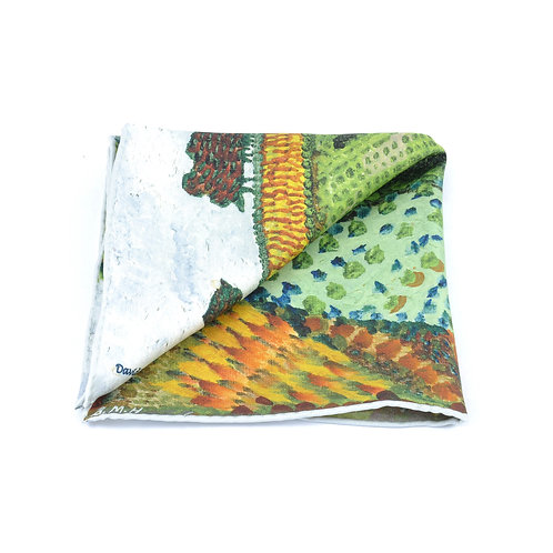 Cotswold Hills Pocket Square