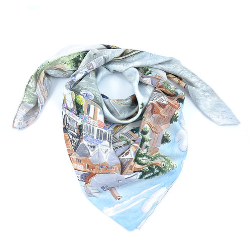 Henley Square Scarf
