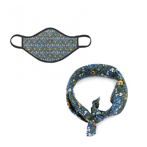 William Morris Eyebright Face Mask & Neckerchief