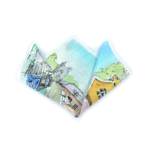 Fowey Pocket Square