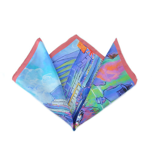 Ascot Colour Pocket Square