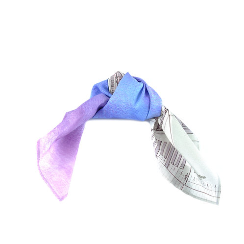 Bath Silk & Cotton Hair Tie