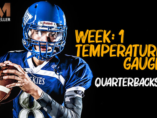 Mules Inc QB Temperature gauge: A look at Week 2