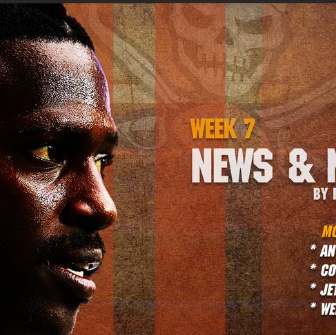 Week 7 News & Notes
