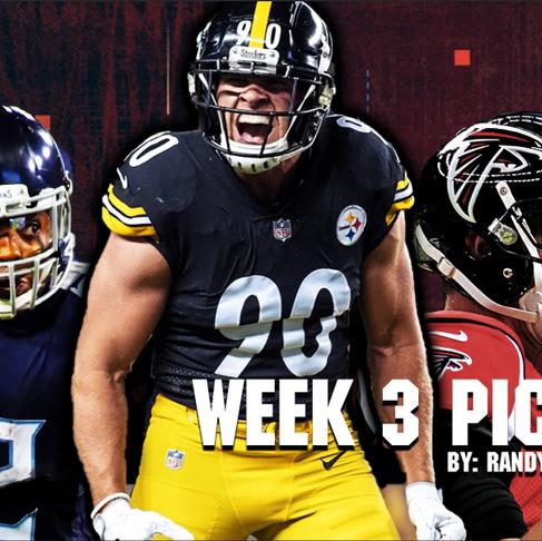Week 3 Picks: 7-0 Against the Spread