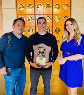 Jason Myers named 2020 Professional Star of the Year by SD Sports Association