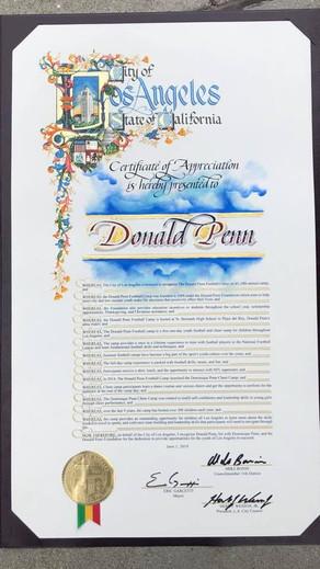 #TBT Donald Penn 10-year Achievment