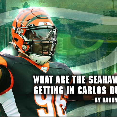 What are the Seahawks getting in Carlos Dunlap?