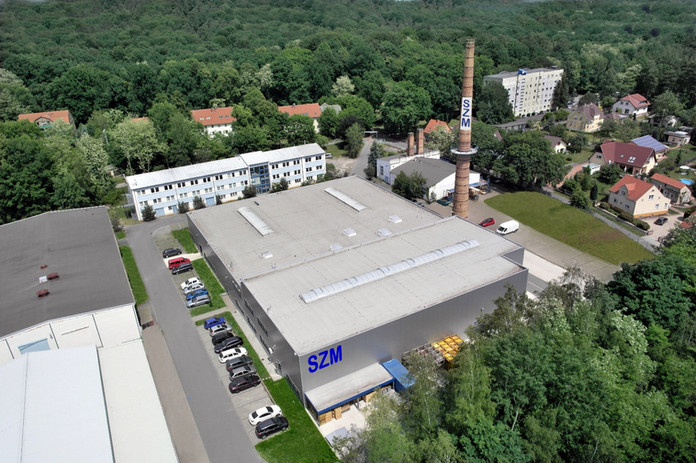 SZM's manufacturing plant is in Bad Muskau, Germany