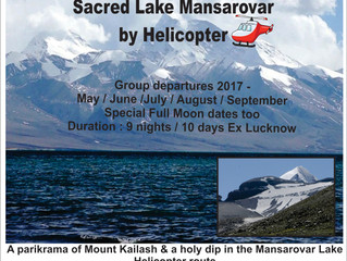 Holy Mount Kailash & Sacred Lake Mansarovar