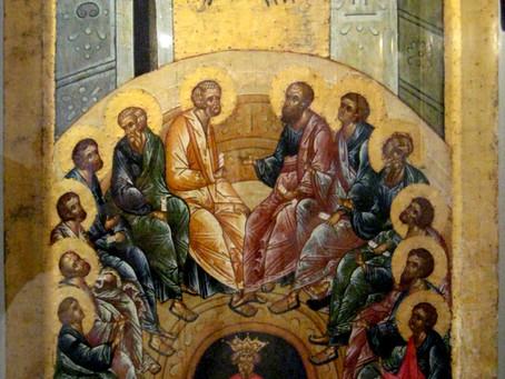 Pentecost: What is happening?
