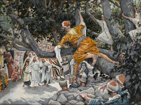 In-Person Worship 3/21/21  Luke 18:31-19:10