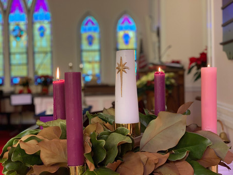 Advent 3  In-person worship