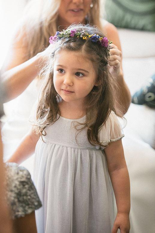 Flower Girl Hair By Trac Ioriannis