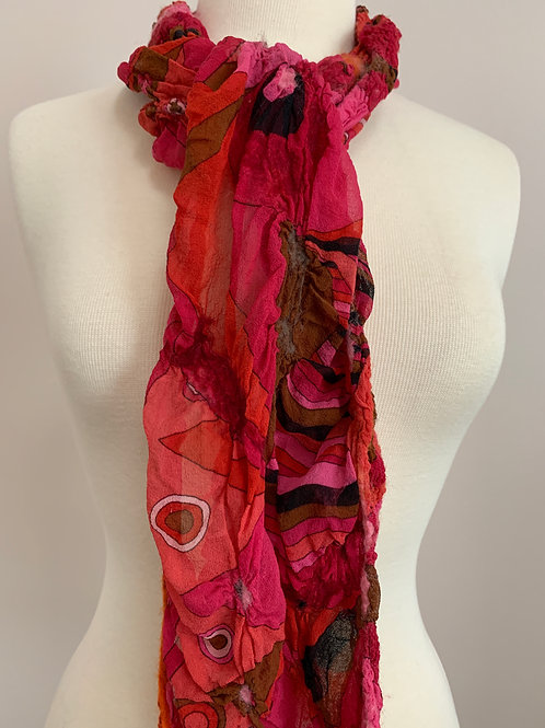 Colors 'n Shapes: Nuno-felted Scarf