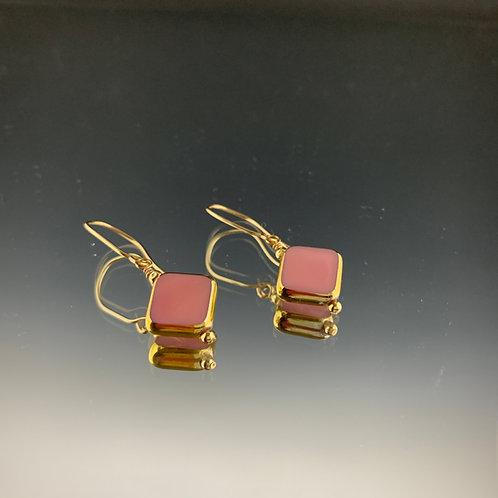 Pink Diamond: 22K Vintage Glass