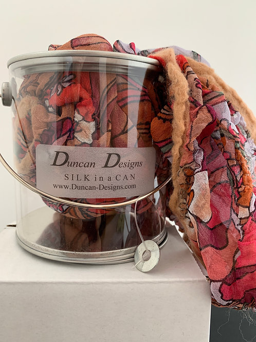 Rose and Tan: Silk in a Can